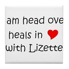 Cute Lizette Tile Coaster