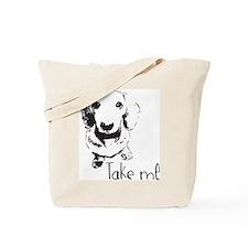 Cute Daschund Tote Bag