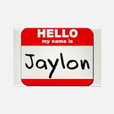 Hello my name is Jaylon Rectangle Magnet