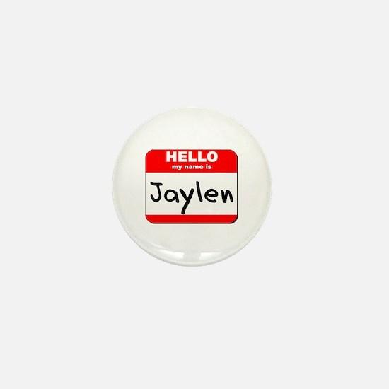 Hello my name is Jaylen Mini Button