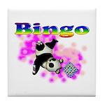 Bingo Panda Spores Tile Coaster