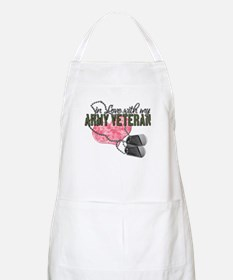 In Love with my Army Veteran BBQ Apron