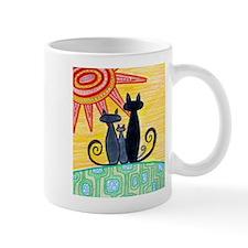 Sunrise Cats Mug