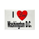 I Love Washington D.C. Rectangle Magnet (10 pack)
