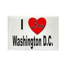I Love Washington D.C. Rectangle Magnet