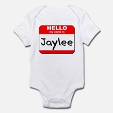 Hello my name is Jaylee Infant Bodysuit