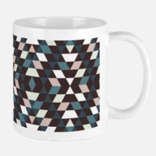 Native Diamond Triangle Pattern Mug