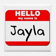 Hello my name is Jayla Tile Coaster