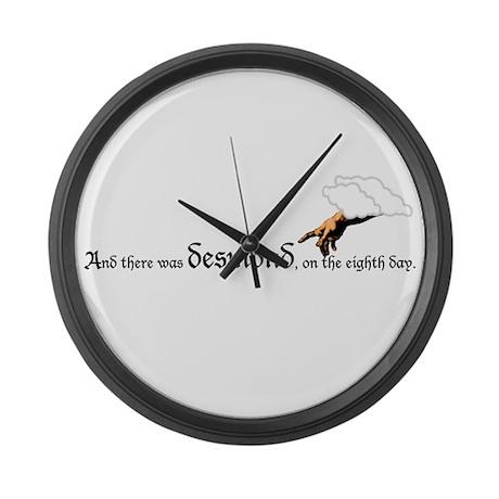 Desmond Large Wall Clock