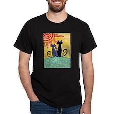 Sunrise Cats T-Shirt