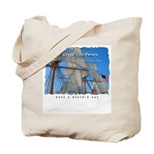 Tall Ships of San Diego Bay Tote Bag