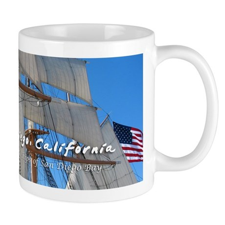 Tall Ships of San Diego Bay Mug