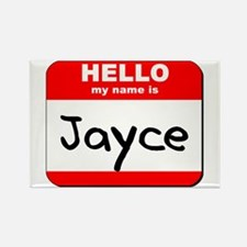 Hello my name is Jayce Rectangle Magnet