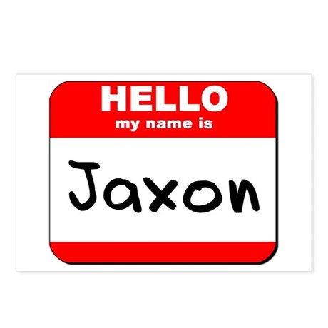 Hello my name is Jaxon Postcards (Package of 8)