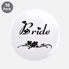 "Classic Bride 3.5"" Button (10 pack)"