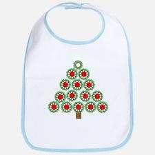 Mechanical Christmas Tree Bib