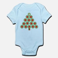 Mechanical Christmas Tree Infant Bodysuit