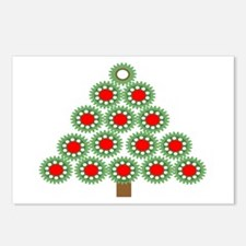 Mechanical Christmas Tree Postcards (Package of 8)