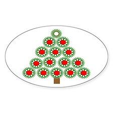 Mechanical Christmas Tree Decal