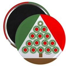 Mechanical Christmas Tree Magnet