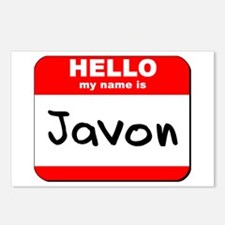 Hello my name is Javon Postcards (Package of 8)