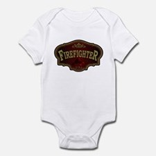 Firefighter Logo Infant Bodysuit