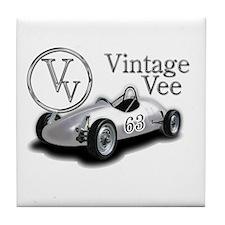 Vintage Vee Wear Tile Coaster
