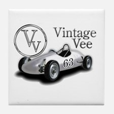 Vintage Vee Wear Tile Coaster