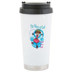 Queen Camp 2008 Stainless Steel Travel Mug