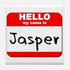 Hello my name is Jasper Tile Coaster