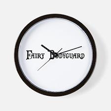Fairy Bodyguard Wall Clock