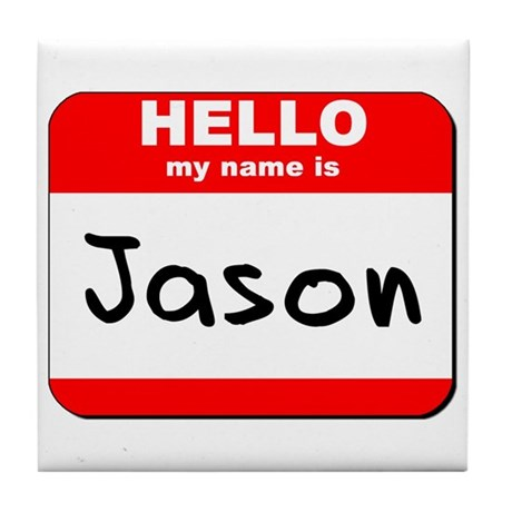 Hello my name is Jason Tile Coaster
