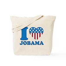 i Love Obama iHeart Tote Bag