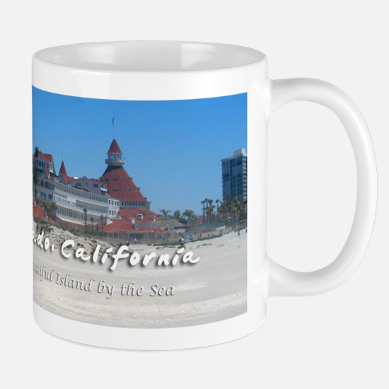 Coronado, Beautiful Island by the Sea Mug