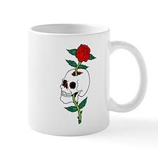 Rose Skull Tattoo Art Mug