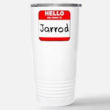 Hello my name is Jarrod Stainless Steel Travel Mug