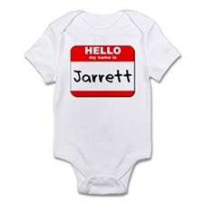 Hello my name is Jarrett Onesie