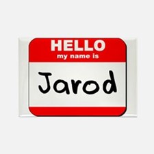 Hello my name is Jarod Rectangle Magnet