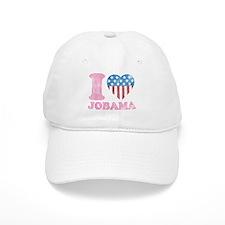Vintage i Love Jobama iHeart Baseball Cap