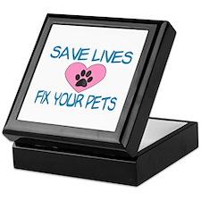 Fix Your Pets Keepsake Box