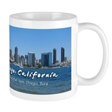 "San Diego, ""Beautiful San Diego Bay"" Mug"