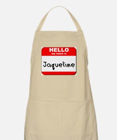 Hello my name is Jaqueline BBQ Apron
