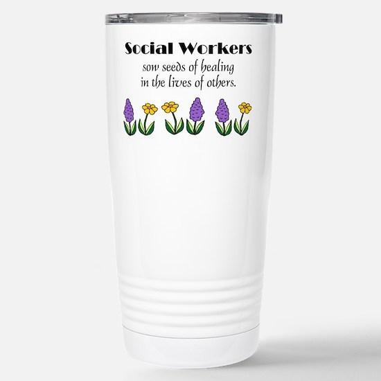 Seeds of Healing Stainless Steel Travel Mug