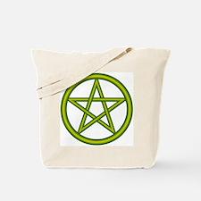 Dragon Green Pentagram Tote Bag