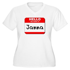 Hello my name is Janna T-Shirt