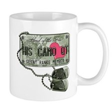 His Camo QT Army (Heart) Mug