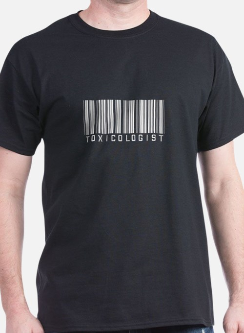 Toxicologist Barcode T-Shirt