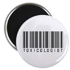 "Toxicologist Barcode 2.25"" Magnet (100 pack)"