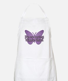 Peace Loving Hippie Chick BBQ Apron