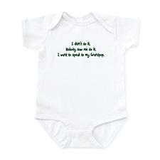 Want to Speak to Grandpop Infant Bodysuit